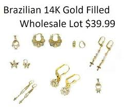 brazilian gold plated gold filled