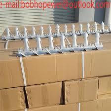 Anti Climb Metal Galvanized Fence Sharp Tooth Security Wall Spikes Security Wall Spikes Fence Spikes