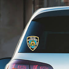 Auto Parts Accessories Proud Police Wife Blue Line United States Nypd Vinyl Car Die Cut Decal Ay027 Smaitarafah Sch Id