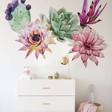 Cactus Wall Decals Wall Stickers Coloraydecor Com