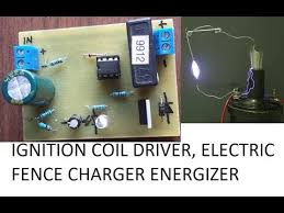 electric fence charger circuit diy