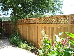 Wooden Privacy Fence Patio Backyard Landscaping Ideas