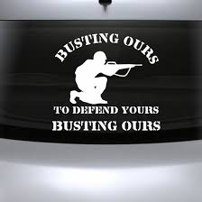 Military Quote Decals
