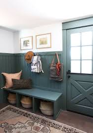 evergreen house mudroom reveal and