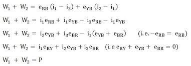 two wattmeter method of power