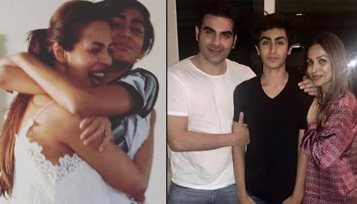 """Image result for malaika and arbaz with arhaan"""""""