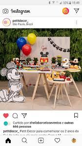 Pin De Gisselle Polit Em Cumpleanos Festa Mickey Festa Minnie