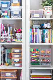 Organizing Kids Craft Supplies 100 Room Challenge The Home I Create