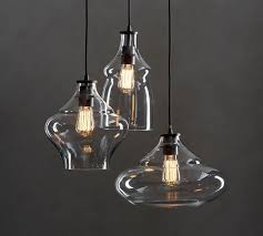 mccarthy 3 light glass pendant with