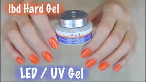 apply ibd hard gel on natural nails