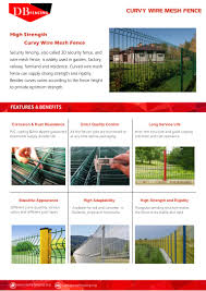 Curvy Wire Mesh Fence Catalog