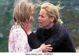 ABIGAIL STONE as Ebrill with MARIA BELLO as Adelle in THE DARK Stock Photo  - Alamy