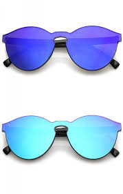 lens rimless ultra bold colored