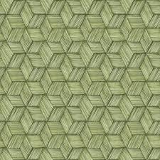 intertwined green geometric wallpaper