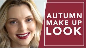 autumn makeup tutorial estée lalonde