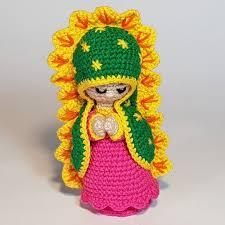 virgen de guadalupe crochet amigurumi