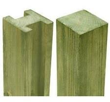 Fence Posts 1 83 2 44m Pack Deal Free Delivery Slotted Concrete Fence Posts 6ft 8ft Garden Patio Tallergrafico Com Uy