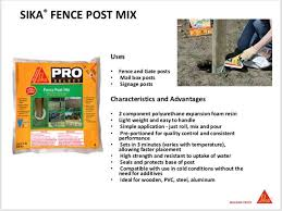 Matt Parish On Twitter Hd 553 Garland Tx Using Sika Usa Fence Post Mix For Their Curbside Pick Up Sign Posts Another Great Way To Use It A 2lb Bag Of It Is The
