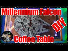 diy ucs millennium falcon lego coffee
