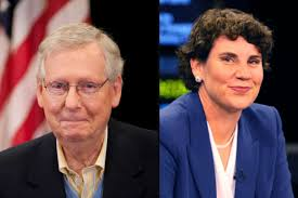 Coronavirus in Kentucky: Mitch McConnell and Amy McGrath play politics
