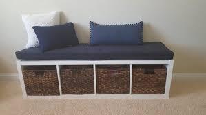 kallax ikea nursery bench seat