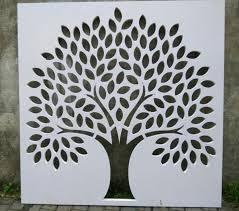 Simple Tree Wall Art Makerbhawan