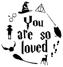 harry potter wall sticker quote you are so loved wall sticker usa