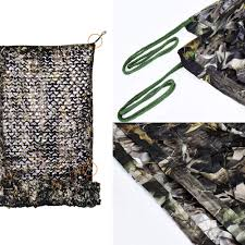 Loogu 190t Camo Netting Bionic Maple Leaf Camouflage Net For Camping Party Decorations Fence Military Hunting Blinds