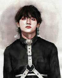 taehyung fanart discovered by bts