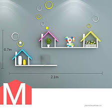 Xiaomei Shelves Children S Room Wall Storage Wall Hanging Kindergarten Wall Decoration Frame B07gm7yq8w