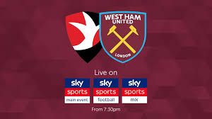Watch the Hammers take on Cheltenham live on Sky Sports tonight