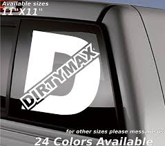 Dirtymax Custom Decal Sticker Turbo Diesel And 50 Similar Items