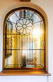 stained glass colour and character