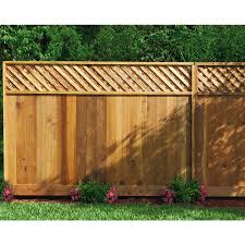 Product Image 4 Fence With Lattice Top Wood Fence Design Fence Design