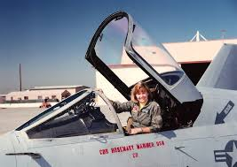navy pilot recalled for her humility