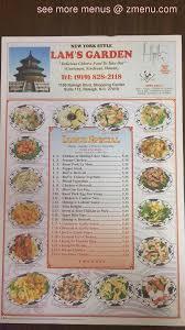 menu of lams garden restaurant
