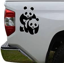 Amazon Com Wild Animal Sex Panda Bear Die Cut Vinyl Decal Sticker For Car Truck Motorcycle Window Bumper Wall Decor Size 10 Inch 25 Cm Tall Color Gloss Black Home Kitchen