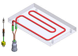 Image result for L type cartridge  heater drawing