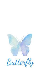 bts butterfly kupu kupu ponsel animasi