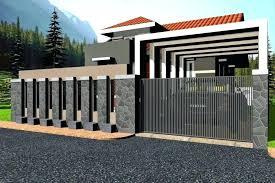 Modern Gate Design 2018 Modern Gate Design Modern House Gates And Fences Designs Home Design Ideas Throughout Modern Fence Design House Wall Design Modern Gate