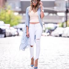zara white distressed jeans with hem