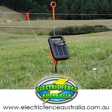 Gallagher 1 5km S16 Portable Solar Electric Fence Energizer Electric Fence Australia