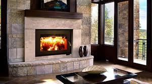 wood burning stove or fireplace
