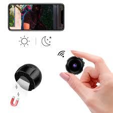 Đeo Không Dây Mini Camera Wifi HD 4K 1080P Micro LED Video Camera IP Hồng  Ngoại Quan Sát Ban Đêm Mạng Lưới Thông Minh giám Sát|