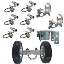 6 Chain Link Rolling Gate Hardware Kit Chain Link Fence Gate Parts 6 Rut R