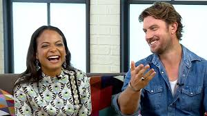 Christina Milian and Adam Demos on Their 'Impeccable Chemistry' in Falling  Inn Love | PEOPLE.com