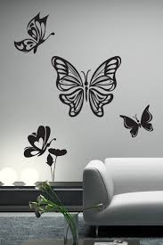 Butterfly Flight Wall Decals Wall Stickers Art Without Boundaries Walltat Com