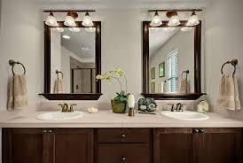 updating bathroom mirror trim bathrooms