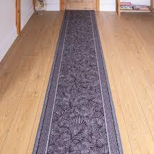 hooked graphite hallway runner rug