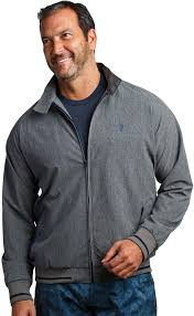 Amazon.com: William Murray Fine Chap Harrington Jacket: Clothing